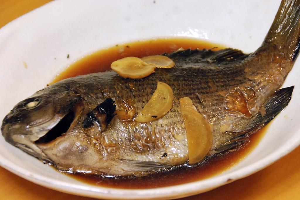 煮付け 魚の